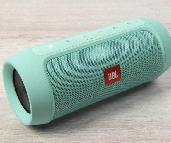 Портативная Bluetooth-колонка JBL Charge 2+ Зеленая
