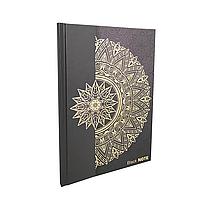 """Блокнот с чёрными страницами """"Black notebook"""" A5"""