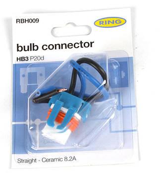 Роз'єм для ламп керамічний 9005 HB3 (P20d) (RBH009) RING