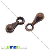 Концевик, 7х2,5 мм, Медь, 1 шт (ZAG-012421)