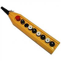 Крановый пульт управления 9-кнопочный, (6 кноп.+ кнопка с ключом авар.стоп d=30mm) 1 скорость PV9E30B222AC20
