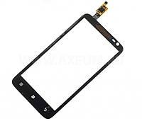 Сенсор (тачскрин) стекло для смартфона Lenovo S720 black