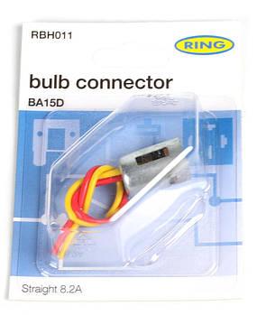 Роз'єм для ламп (BA15D) (RBH011) RING