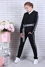 Подростковый костюм для девочки р. 134-164 опт черный, фото 2