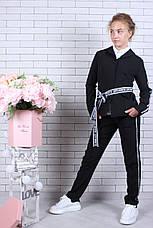 Подростковый костюм для девочки р. 134-164 опт черный, фото 3