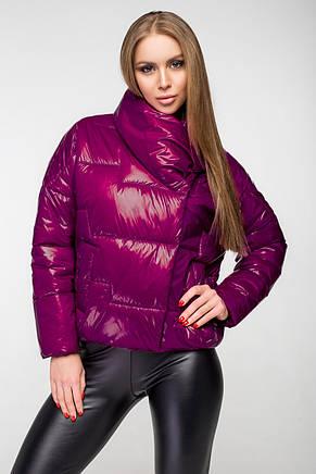 Куртка женская демисезонная KTL-295 - малиновая, фото 2