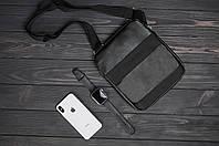 Мужская сумка/барсетка/мессенджер через плече экокожа/кожаная кельвин кляйн (Calvin Clein) реплика