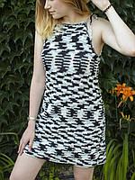 Как вязать платье-сарафан с американской проймой?