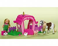 Кукла Evi на ферме с животными Simba 5733068