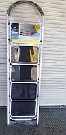 Стремянка,лестница на 5 ступеней  белая