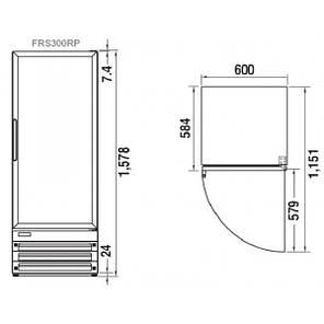 Холодильна шафа Turbo Air FRS 300 RP, фото 2