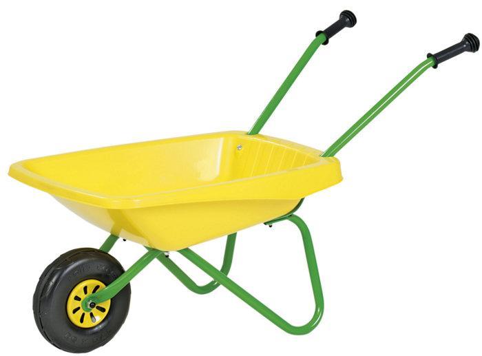 Детская тачка Rolly Toys 270873 желтая