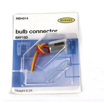 Разъём для ламп керамический BAY15D  (RBH014) RING