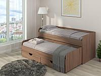 Кровать двухместная Соня-5, с выдвижной кроватью