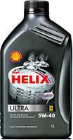 Моторное масло Shell Helix Ultra 5w40 4L (API SN/CF, ACEA A3/B3/B4) синтетика