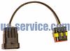 Перехідник на кабель для діагностики та установки ГБО Landi Renzo-OMVL