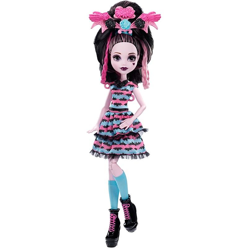 Кукла Monster High Draculaura (Дракулаура) - Стильные прически Mattel™ (DVH36)