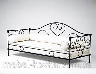 Кованая кушетка 2 (подушки просч.отдельно)