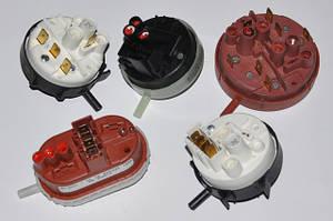 Пресостат (датчики рівня води, датчики тиску повітря)