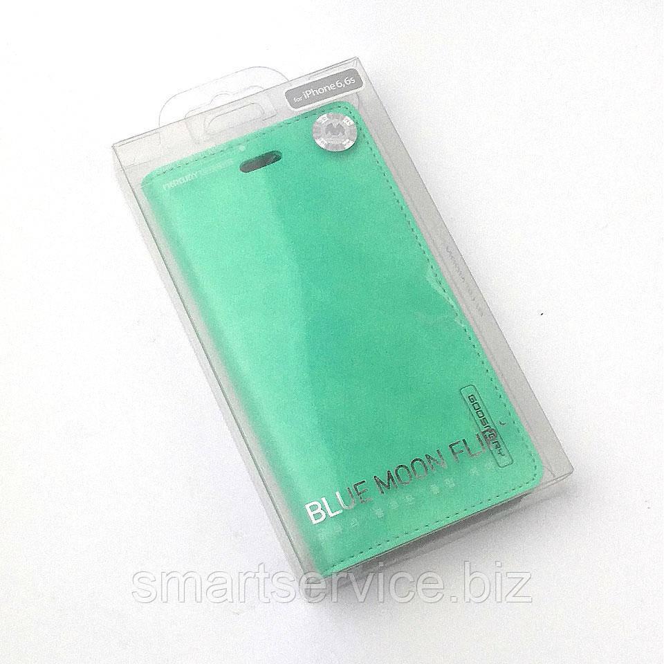 Чехол-книжка Mercury Goospery Blue Moon Flip для Iphone 6/6s