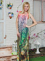 Красивое платье из шифона