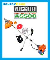 Коса бензиновая Aksor A5500  3 Ножа 1 Катушка