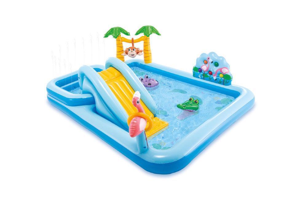 Детский Игровой центр Джунгли Intex 57161 мини-аквапарк надувной бассейн для детей