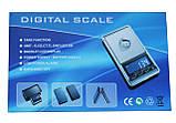 Портативні ваги DS-NEW-500 (500гр/0.1 гр), фото 5