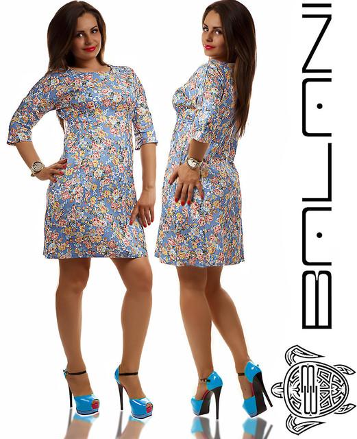 Платья короткие и средней длины