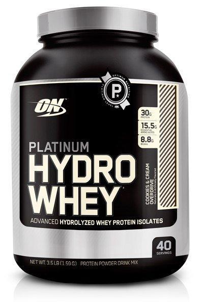 Optimum Nutrition Platinum Hydrowhey (1600 гр.) Turbo Chocolate