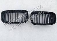 Решетка радиатора BMW X5 E70 (ноздри с двойными ребрами, М стиль)