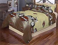 Комплект постельного белья для мальчиков Харлей Дэвидсон, Бязь голд
