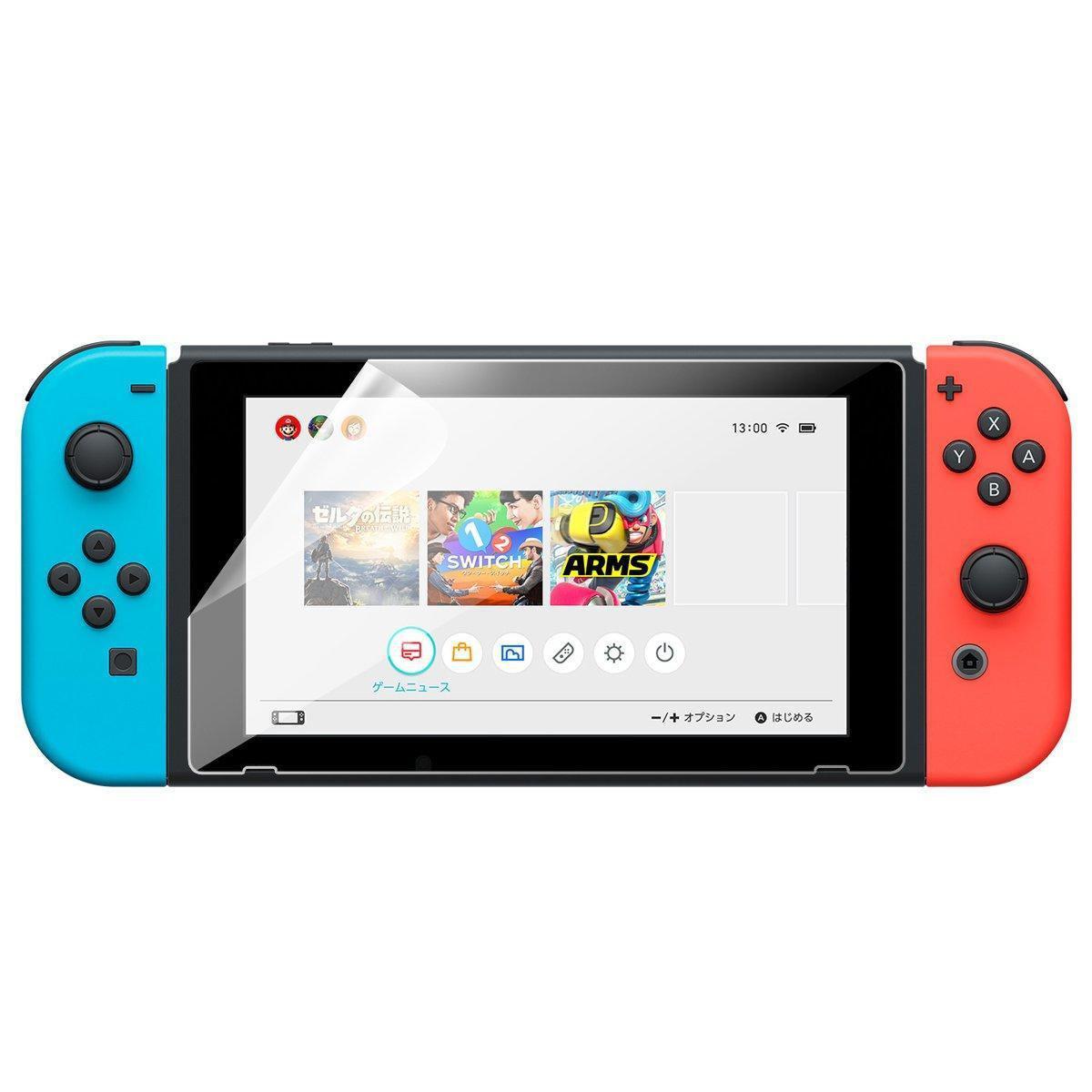 Защитная пленка для Nintendo Switch / Есть выбор по чехлам и кейсам /
