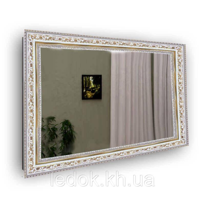 Зеркало в раме с золотым узором 5826А-26-G