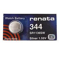 Батарейка часовая Renata 344 (SR1136SW) Silver oxide