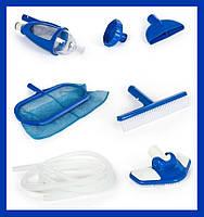 Набор для уборки и чистки бассейнов с пылесосом Intex (3 шт в уп)