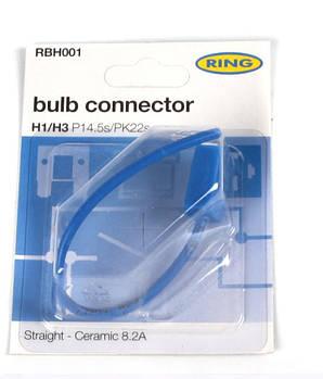 Разъём для ламп керамический H1/H3  (RBH001) RING