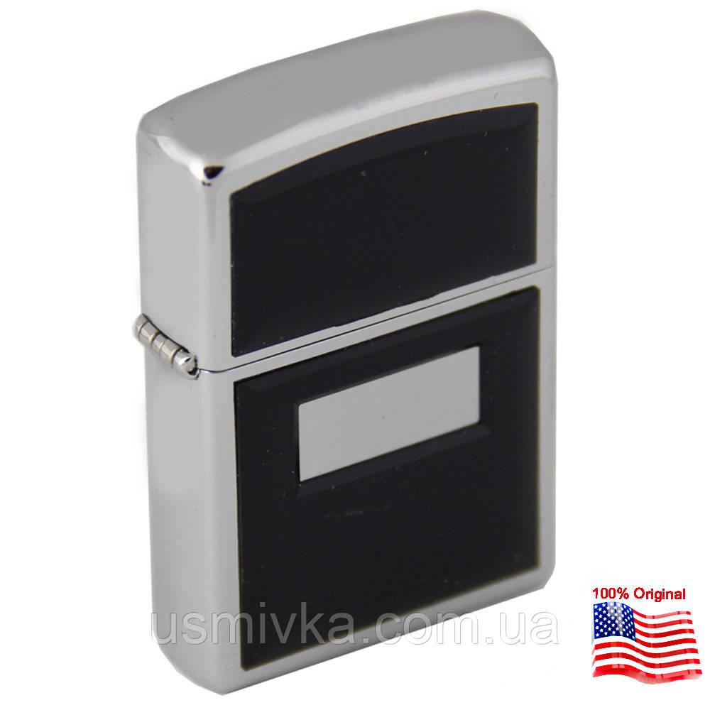 Зажигалка Zippo 355 Ultralite black серая 355