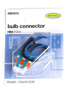 Разъём для ламп керамический 9006 HB4 (P22d) (RBH010) RING