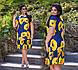 """Летнее женское платье в больших размерах """"Трикотаж Маки Оборка"""" в расцветках (DG-ат 1124), фото 10"""