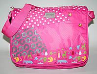 7849 Сумка школьная розовая