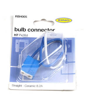 Разъём для ламп керамический H7 (RBH005) RING