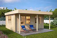 Дом деревянный из профилированного бруса 4х5. Скидка на домокомплекты на 2020 год