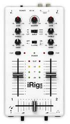 IK MULTIMEDIA IRIG MIX Ультракомпактный DJ микшер для iPhone, iPod touch, или iPad.