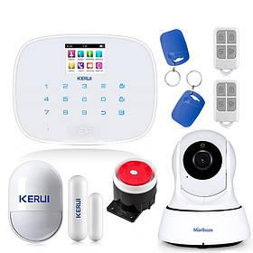 Комплект сигнализации Kerui G19 с Wi-Fi IP-камерой