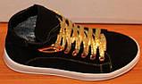 Ботинки подростковые замшевые, детская обувь от производителя модель ДЖ7008-1ЖР, фото 5