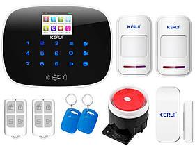 Комплект сигнализации Kerui G19 для 1-комнатной квартиры, Гарантия 12 месяцев