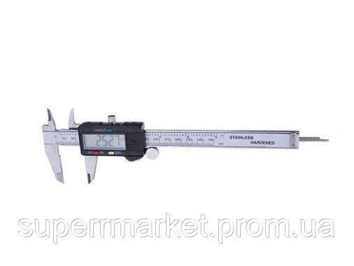 Электронный цифровой штангенциркуль с LCD Digital caliper штангель 150MM, фото 2