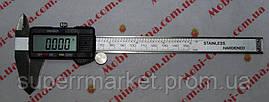 Электронный цифровой штангенциркуль с LCD Digital caliper штангель 150MM, фото 3
