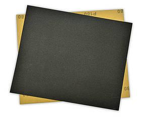 Бумага наждачная Spitce водостойкая 230 х 280 мм Р80 10 шт (18-567)